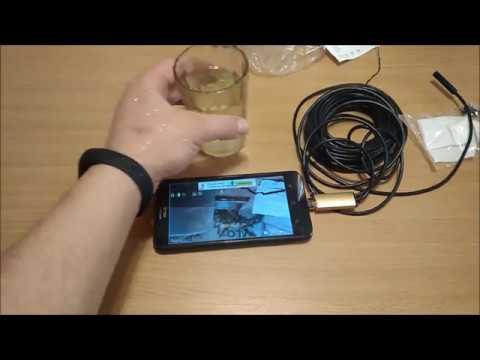Эндоскоп для смартфона с алиэкспресс