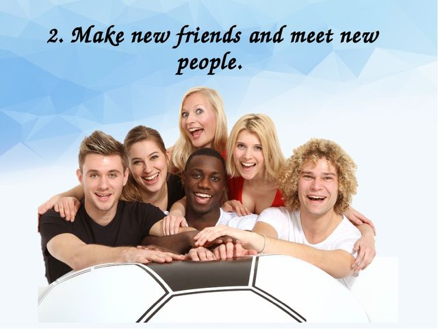 Dating and meeting new friends