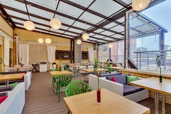 Ресторан Подполиум  - фотография 8 - Летняя терраса Подполиум, 3-й этаж