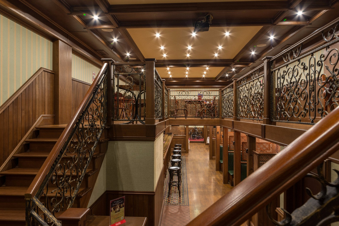 Ресторан Постскриптум - фотография 6 - Банкетный зал