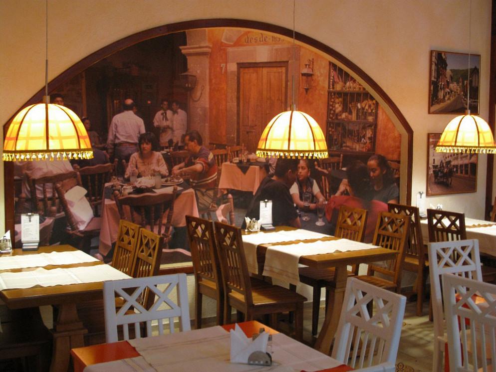 Ресторан Кабачок под абажуром - фотография 2