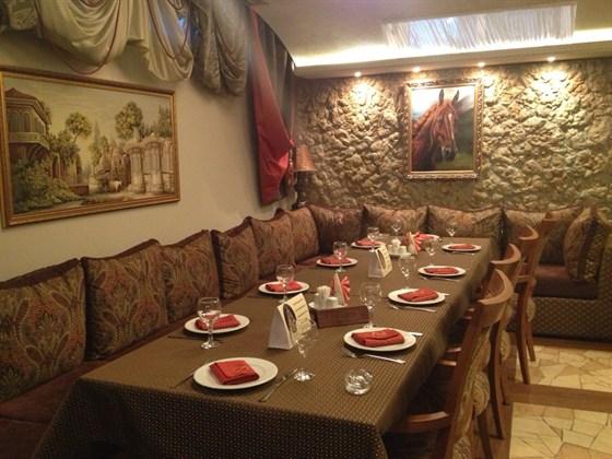 Ресторан Тинатин - фотография 1 - Основной зал