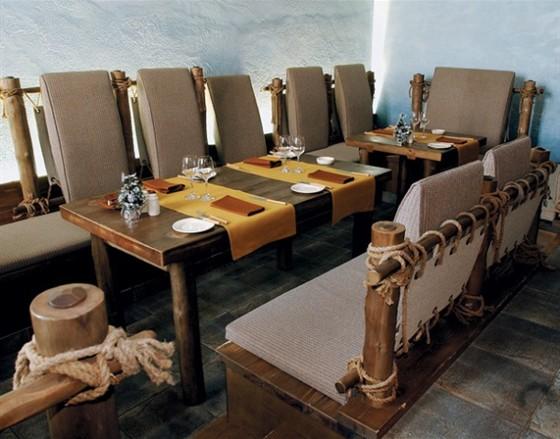 Ресторан Экспедиция. Северная кухня - фотография 14 - VIP зал на 15 персон.