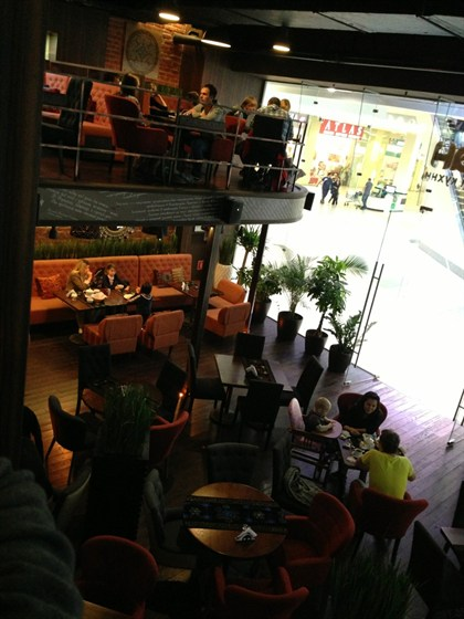 Ресторан Байхан - фотография 2 - Вид сверху
