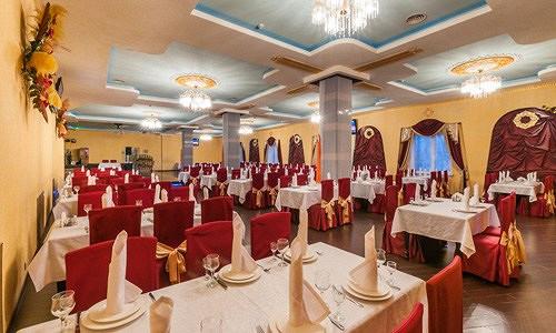 Ресторан Сказка Востока - фотография 11 - Интерьер Большого банкетного зала на 300  гостей.