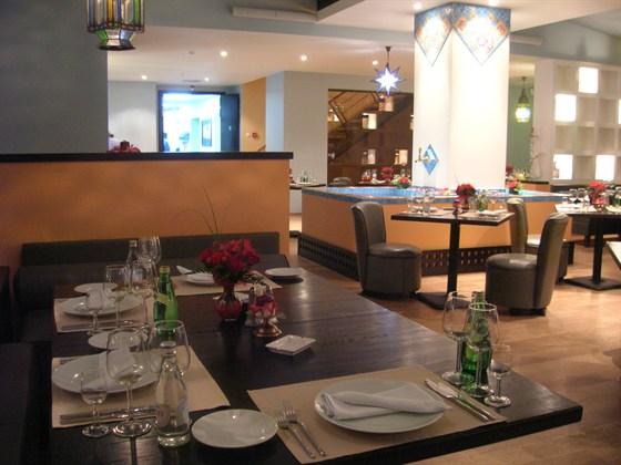 "Ресторан Джотто - фотография 8 - Ресторан ""Джотто"". Восточный зал."