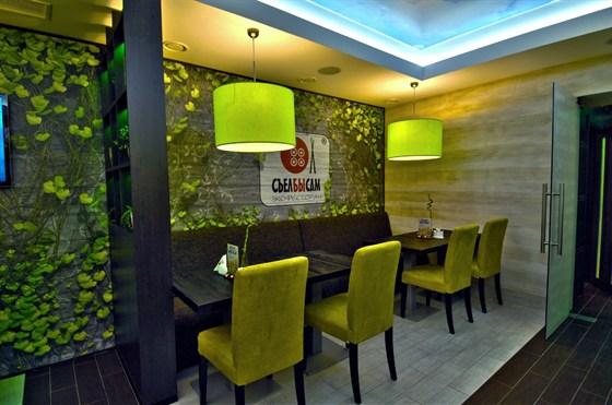 Ресторан Съел бы сам - фотография 5 - Эко-интерьер для наших дорогих гостей!