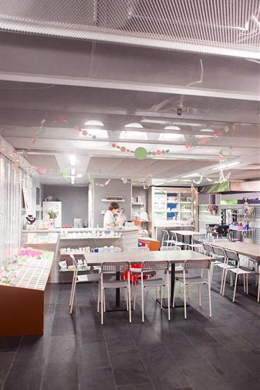 Ресторан Ribambelle Green - фотография 9 - Творческая мастерская