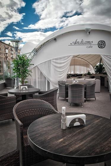 Ресторан Andiamo - фотография 26 - Летняя веранда