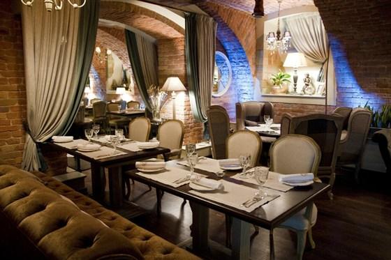 Ресторан Legran - фотография 4 - Барный зал.
