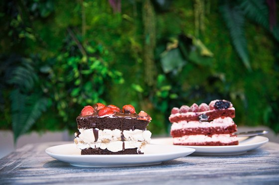 Ресторан Hand Made Cake - фотография 10 - торт Hand Made и торт Красный бархат