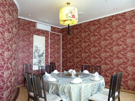Ресторан Sky View - фотография 1 - кабина очень удобная вип зал
