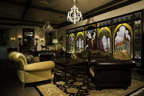 Ресторан Visconti - фотография 4 - Сigar lounge Visconti