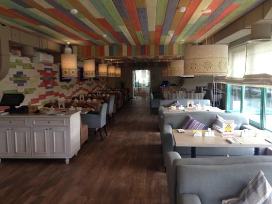 Ресторан Лепешка - фотография 5 - второй этаж