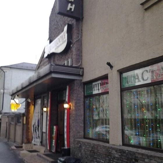 Ресторан Траттория в Сокольниках - фотография 13 - Вход в тратторию.