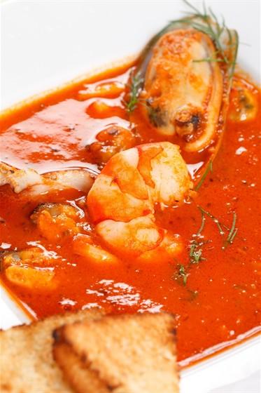 Ресторан La Fenice - фотография 14 - Фирменное блюдо - уха по-итальянски