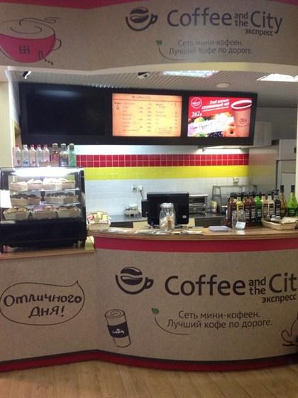 Ресторан Coffee and the City - фотография 1 - Кофейня на АЗС ЕКА