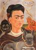 Фрида Кало. Автопортрет с обезьянкой