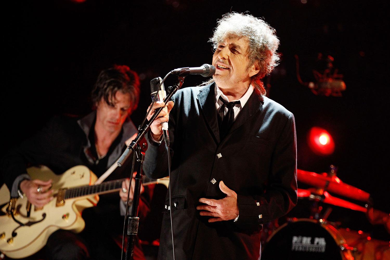 Кавер Боба Дилана на песню Синатры