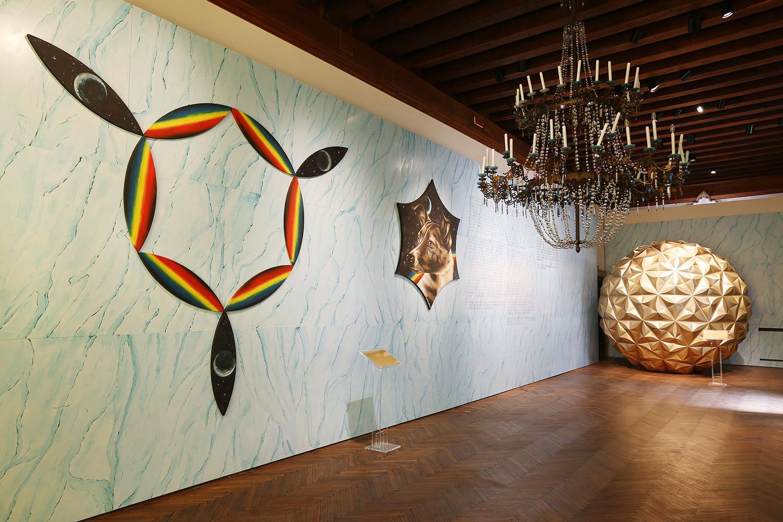 Проект Арсения Жиляева «Колыбель человечества» для выставки фонда V-A-C в Каза деи Тре Очи в Венеции в 2015 году.