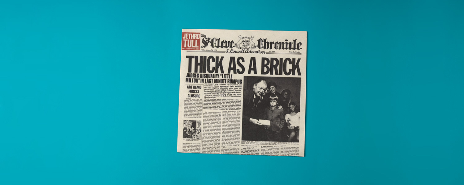 «Thick as a Brick» (1972)