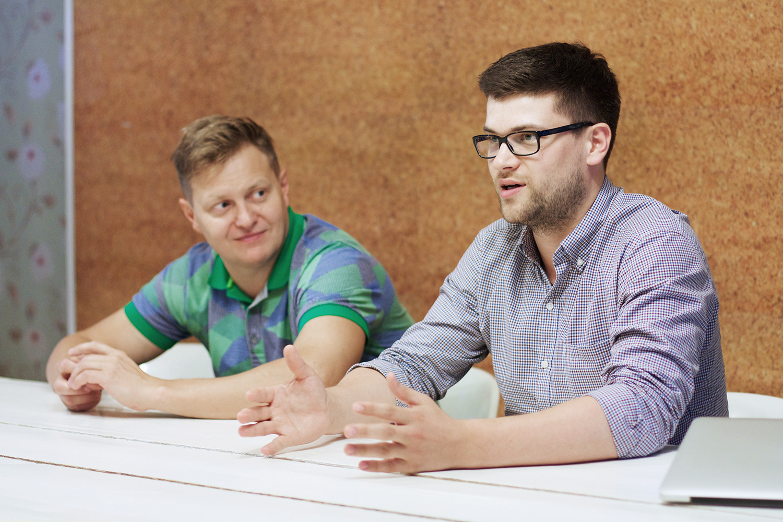 Андрей Шмаков и Андрей Коробяк
