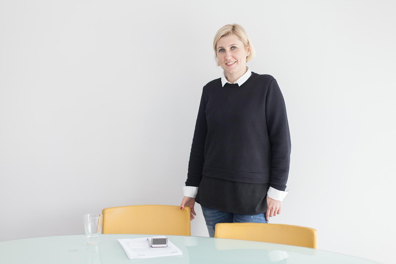 Ольга Шевцова в офисе IKEA