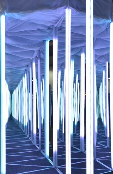 Фото парк Зеркальный лабиринт