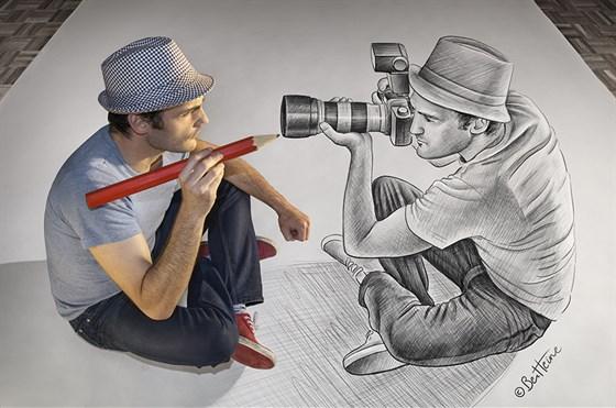 Бен Хайне. Карандаш против камеры смотреть фото