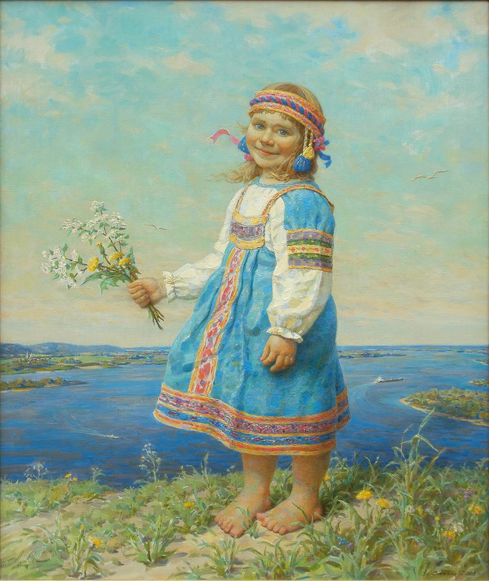 Владимир и Мария Занога. Преемственность: отец и дочь смотреть фото