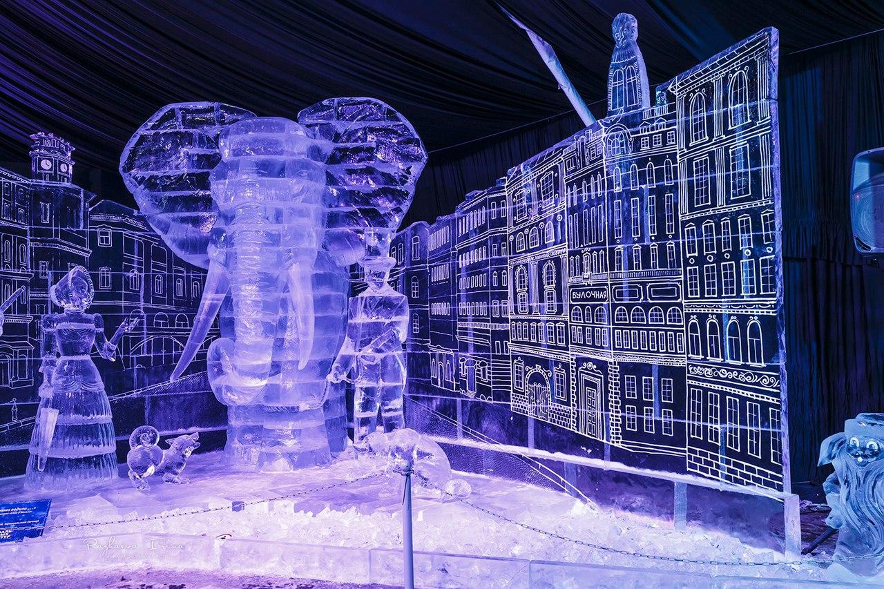 Фестиваль ледовых скульптур Ice Fantasy 2019 смотреть фото