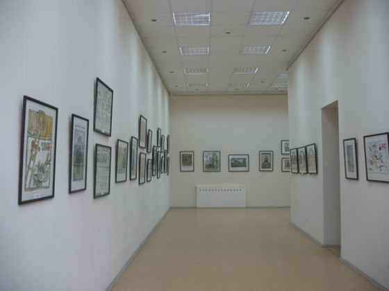 Фото малый зал Союза Художников