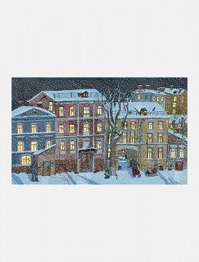 Календарь ожидания Нового года «Московский дворик»