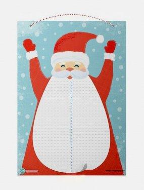 Адвент-календарь Cute'n Clever «Дед Мороз»