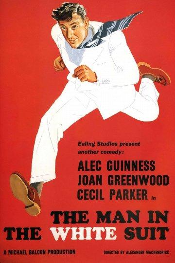 Постер Человек в белом костюме