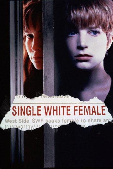 Постер Одинокая белая женщина