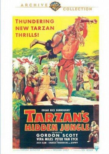 Постер Приключения Тарзана в джунглях