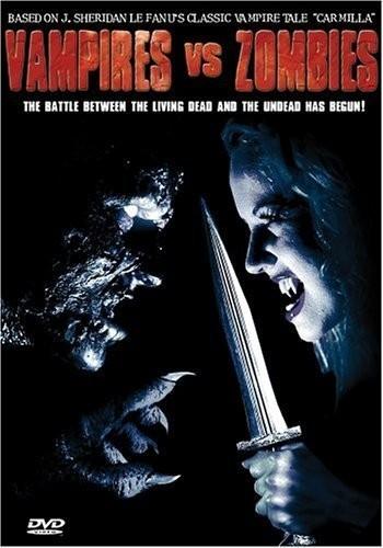 Постер Вампиры против зомби