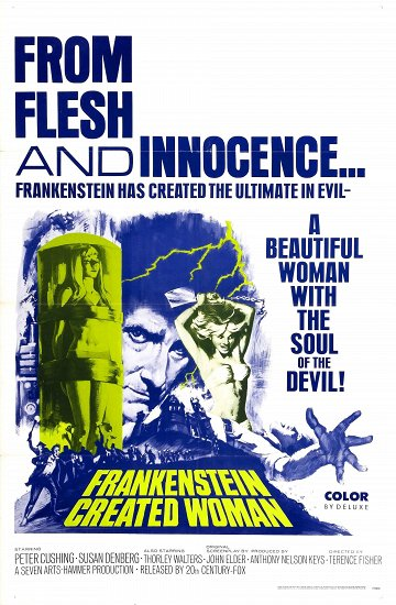 Постер Франкенштейн создал женщину