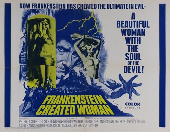 Франкенштейн создал женщину (Frankenstein Created Woman)
