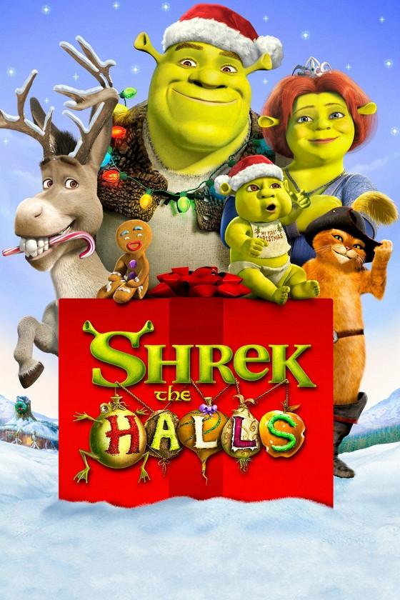 Шрэк-мороз, зеленый нос  (Shrek the Halls)