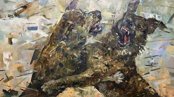 Кирилл Бородин. Да мы с собачками…
