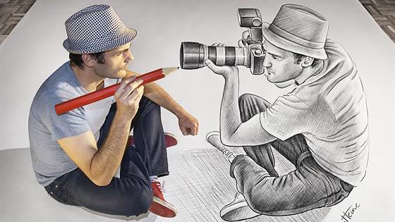 Бен Хайне. Карандаш против камеры