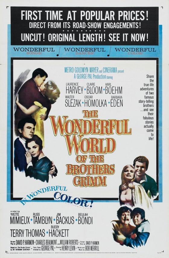 Удивительный мир братьев Гримм (The Wonderful World of the Brothers Grimm)