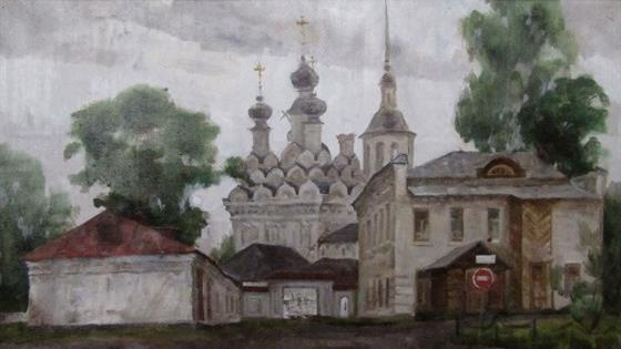 Земля русская. Пейзажная и церковная живопись Татьяны Мищенко