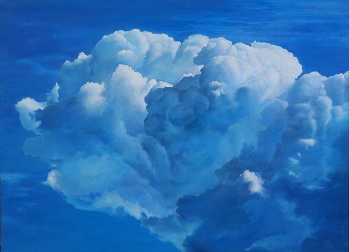 Ольга Тобрелутс, «Небесные ландшафты», 2013