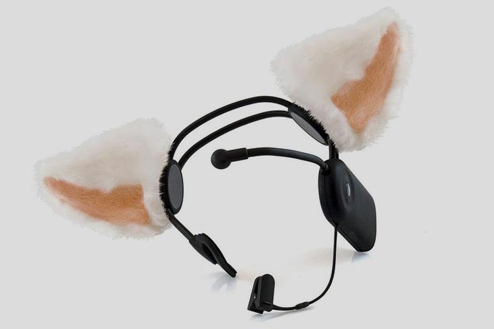 «Necomimi» — это приспособление, позволяющее шевелить накладными ушами с помощью сигналов мозга