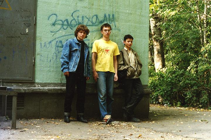 Алексей «Спонсор» Власов, Борис Усов и Борис Покидько, 1996 год
