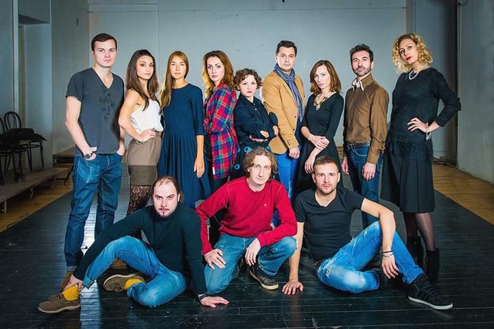 Команда актеров «Открытой сцены»