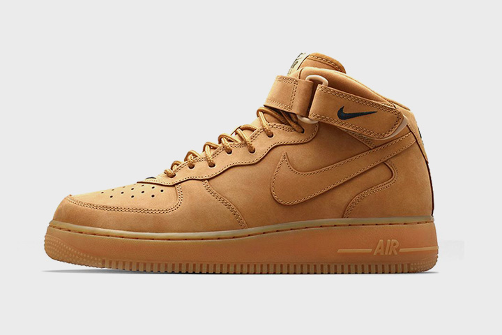 Nike Air Force 1 Mid Flax, 5 490 р.